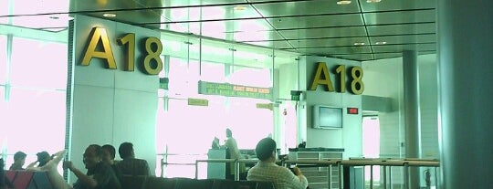 Gate A18 is one of SIN Airport Gates.