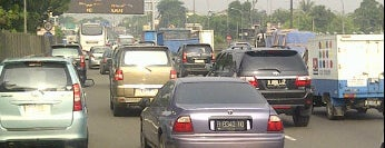 Jalan Tol Lingkar Luar Jakarta Seksi S (JORR S) is one of Jakarta. Indonesia.