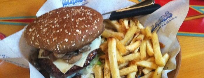 Islands Restaurant is one of David & Dana's LA BAR & EATS!.