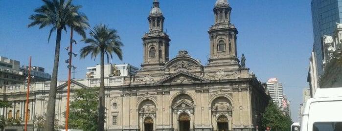 Catedral Metropolitana de Santiago is one of Santiago, Chile #4sqCities.