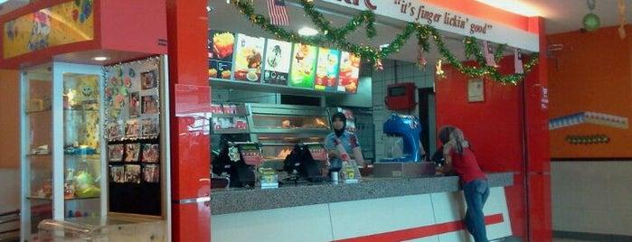 KFC is one of 20 favorite restaurants.