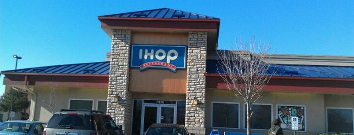 IHOP is one of day.