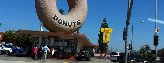 Randy's Donuts is one of Los Angeles.