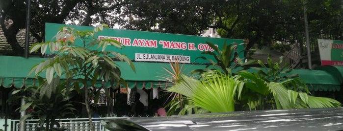 Bubur Ayam Mang H. Oyo is one of Bandung Food Foursquare Directory.