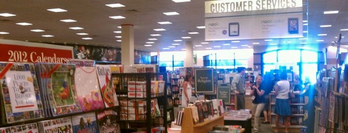 Barnes & Noble is one of stores.
