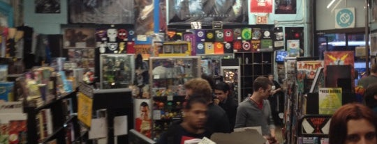 Forbidden Planet is one of Ultimate NYC Nerd List.