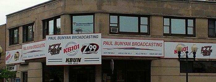 Paul Bunyan Broadcasting is one of Bemidji.