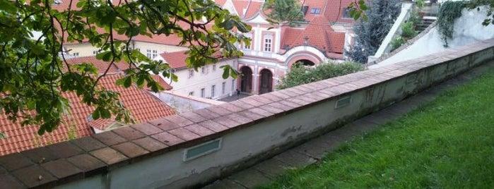 Ledeburská zahrada | Ladeburg Garden is one of Gardens, Parks and Forests in Prague.