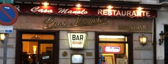 Casa Manolo is one of Madrid: de Tapas, Tabernas y +.