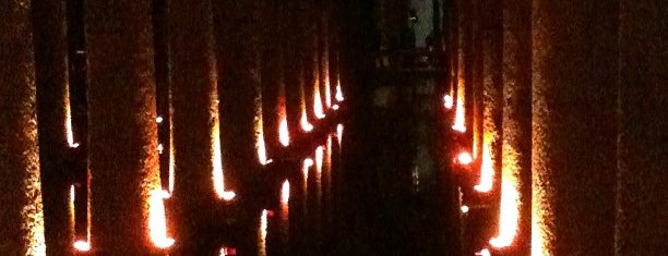 Basilica Cistern is one of Istanbul.