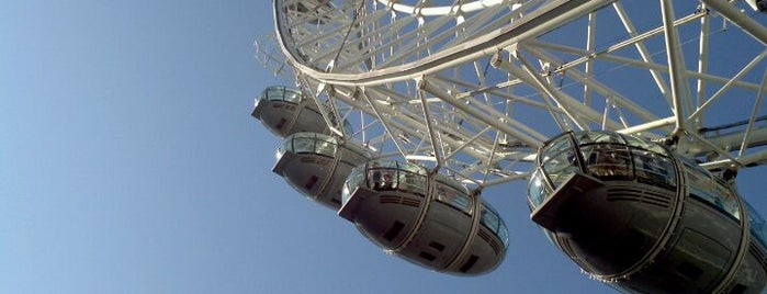 The London Eye is one of Dream Destinations.