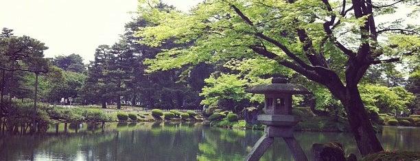 Kenrokuen Garden is one of 日本の都市公園100選.