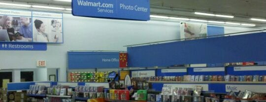 Walmart is one of Frequent Check In's.