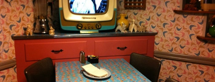 50's Prime Time Cafe is one of Disney Sightseeing: Hollywood Studios.