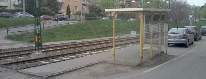 Vas Gereben utca (59, 59A) is one of Budai villamosmegállók.
