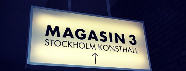 Magasin III Museum & Foundation for Contemporary Art is one of Stockholm.