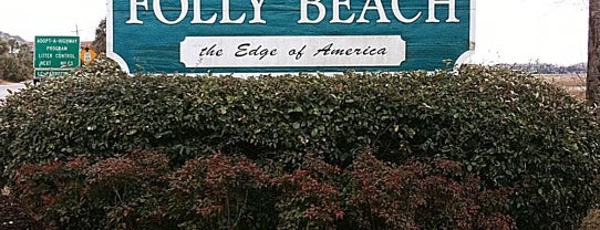 Folly Beach is one of Charleston's Top Social Spots.