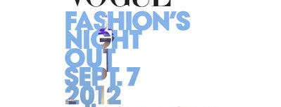HUGO Store is one of VOGUE Fashion's Night Out at HUGO BOSS.