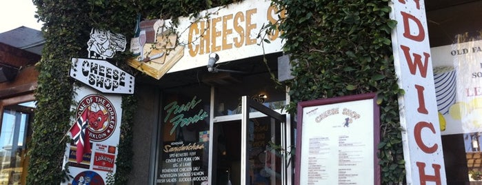 Cheese Shop is one of Favorite Haunts Insane Diego.