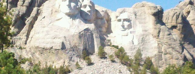Mount Rushmore National Memorial is one of Seattle - Baltimore.