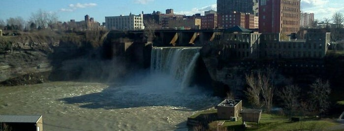 High Falls is one of The Best Spots In Rochester, NY.