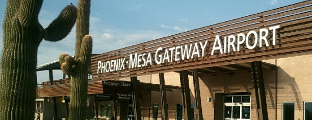 Phoenix-Mesa Gateway Airport (AZA) is one of Venues To Visit.