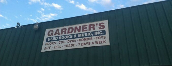 Gardner's Used Books and Music, Inc. is one of Tulsa To-Do.