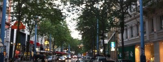 Mariahilfer Straße is one of Vienna, Austria - The heart of Europe - #4sqCities.