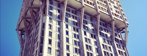 Torre Velasca is one of Best places in Milan.