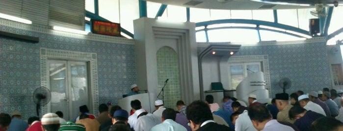 Surau Menara TM Jalan Pantai Baharu is one of Baitullah : Masjid & Surau.