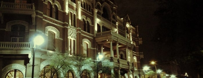 The Driskill is one of Speakmans SXSW Venues in Austin.