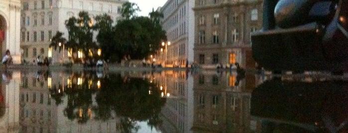 Karlsplatz is one of StorefrontSticker #4sqCities: Vienna.