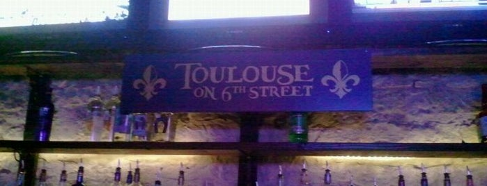 Toulouse is one of Clubs, Pubs & Nightlife in ATX.
