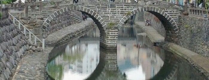 Megane Bridge is one of 長崎市 観光スポット.