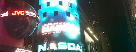 Nasdaq Marketsite is one of NYC.