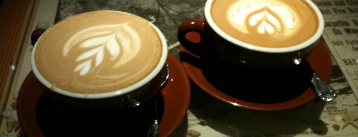 Thinking Cup is one of Boston's Best Coffee - 2012.
