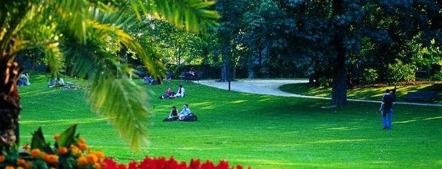 Sint-Donatuspark is one of My favorite places in Leuven, Belgium  #4sqCities.