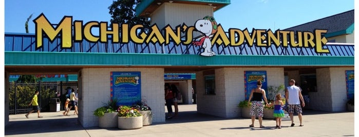 Michigan's Adventure is one of Fun Go-to-Spots.