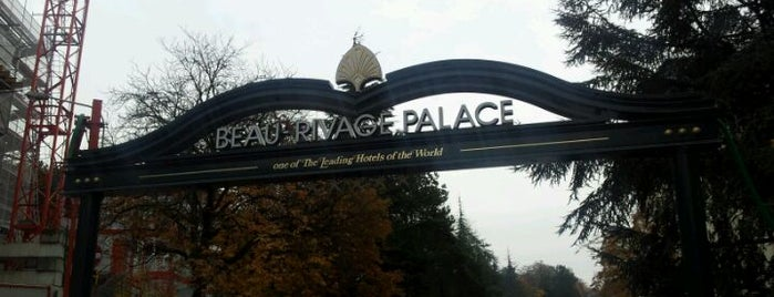Beau-Rivage Palace is one of My Switzerland Trip'11.
