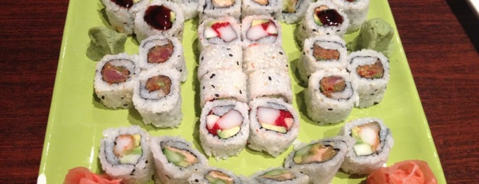 Hoshi Sushi Lounge is one of Favorite Places to grab some Grub!.