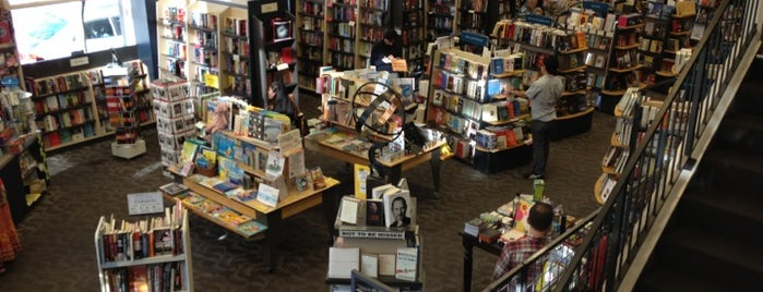 Books Inc. is one of Visited places.