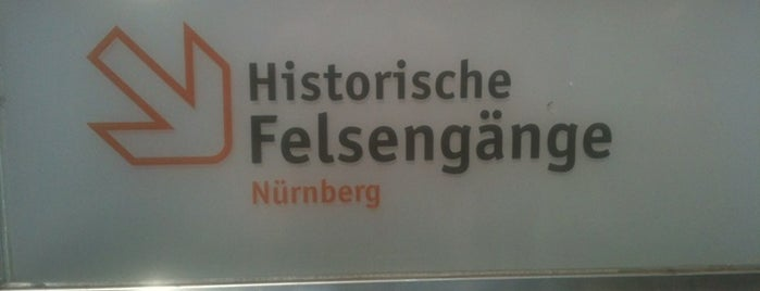 Historische Felsengänge is one of Nuremberg's favourite places.