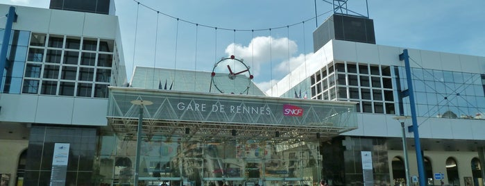 Gare SNCF de Rennes is one of The best after-work drink spots in RENNES.