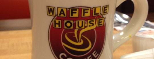 Waffle House is one of Where to Eat in Atlanta.