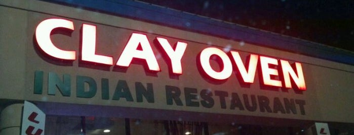 The Clay Oven is one of Top Notch.