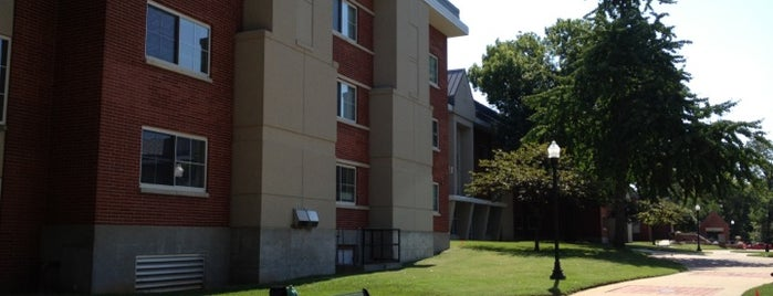 Northeast Hall is one of Campus Tour.
