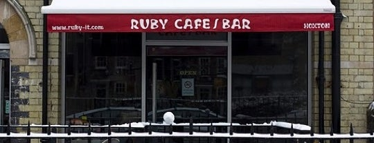 Ruby is one of Best coffee places.