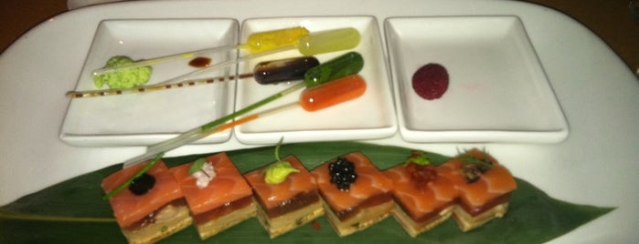 Morimoto is one of NYC.