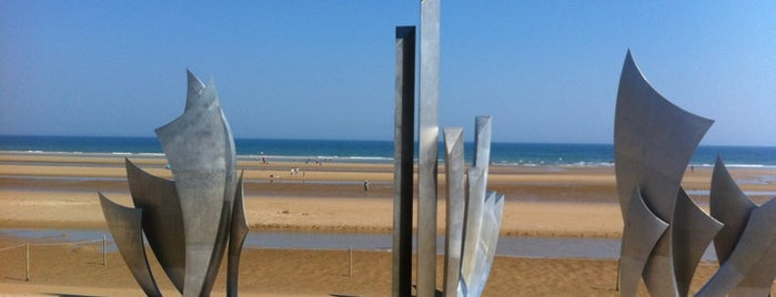 Omaha Beach is one of 1,000 Places to See Before You Die - Part 2.