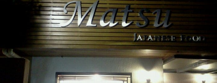Matsu Japanese Food | 松 is one of A comer e beber.
